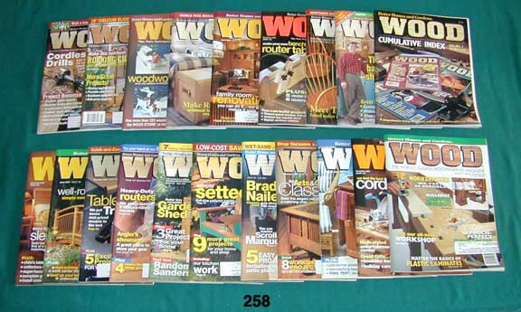 Woodsmith Magazine 1993 Issues 85 - 90 Notes From The Shop Complete 6 Issue Set