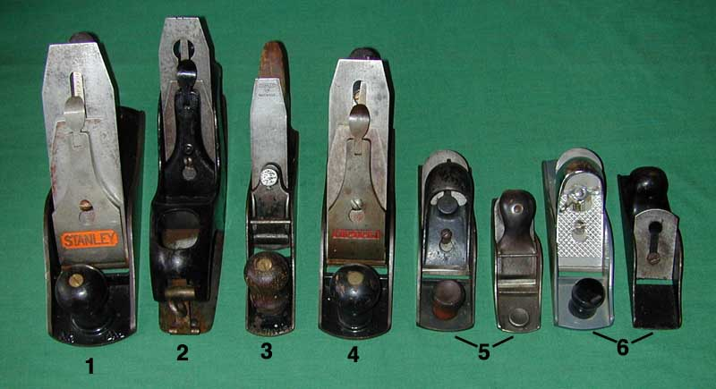 A Stanley Bailey Spokeshave Index