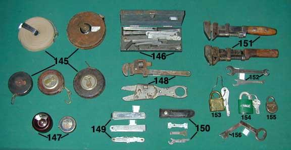 Two sets of feeler gauges including one