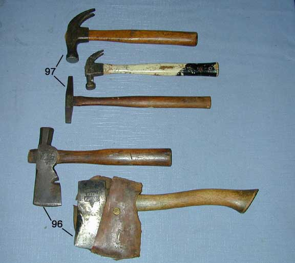 types of antique hammers. three hammers: shapleigh tack hammer; simmons mini claw hammer \u0026 keen kutter dynamic hammer, all very good. types of antique hammers m